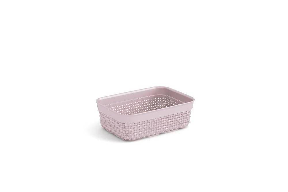 Plastový organizér FILO - ružový