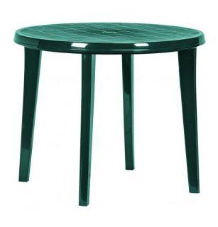 LISA stôl ?90 zelený