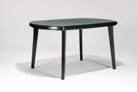 e20d264cd40c Oválny stôl vhodný na záhradu či terasu.