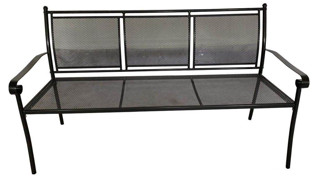 Keter záhradná kovová lavica - 162 x 90 x 60 cm