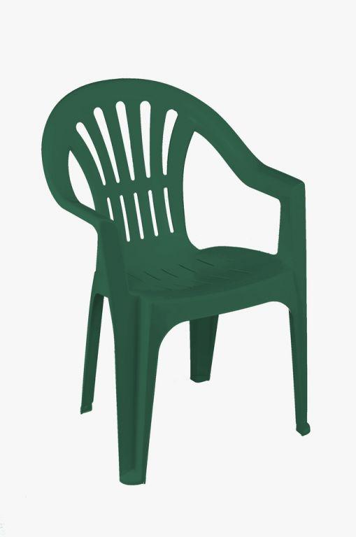 Stolička nízka KONA - zelená