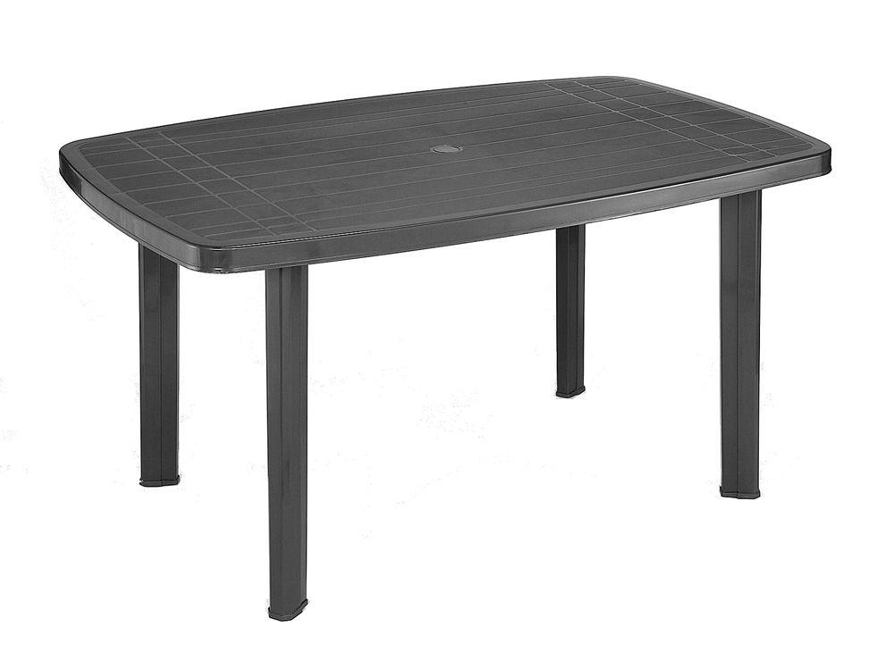 Záhradný plastový stôl FARO - grafit