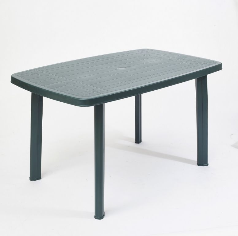 Záhradný plastový stôl FARO - zelený