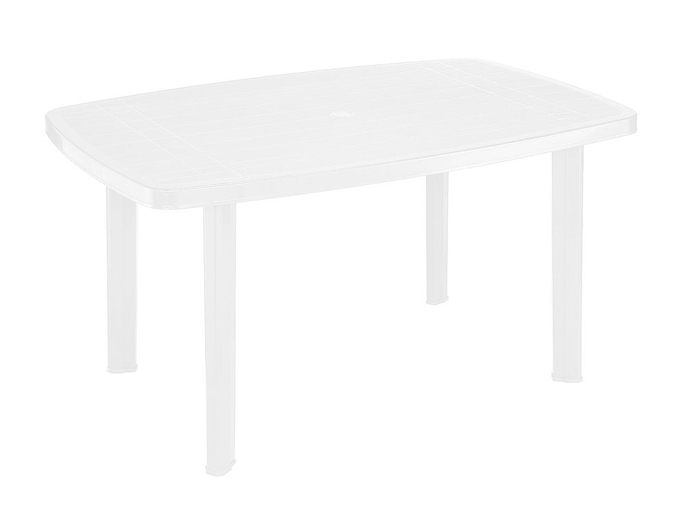 Záhradný plastový stôl FARO - biely